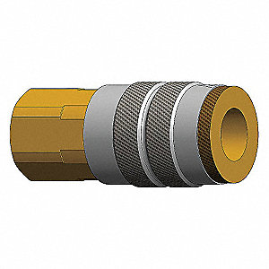COUPLER 3/8INX 1/4IN FEMALE NPT
