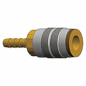COUPLER 1/2IN HOSE SHANK 1/2IN