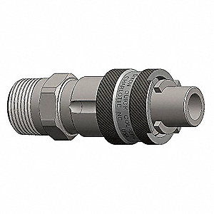 COUPLING M/HEAD X M/NPT END 1/2IN