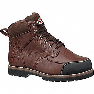 Work Boots, Size 12, Toe Type: Steel, PR