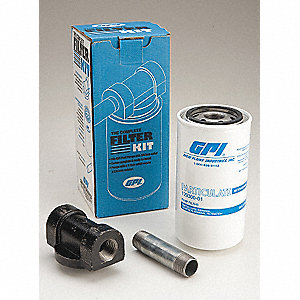 Fuel Filter Kit, Spin-On Filter Design