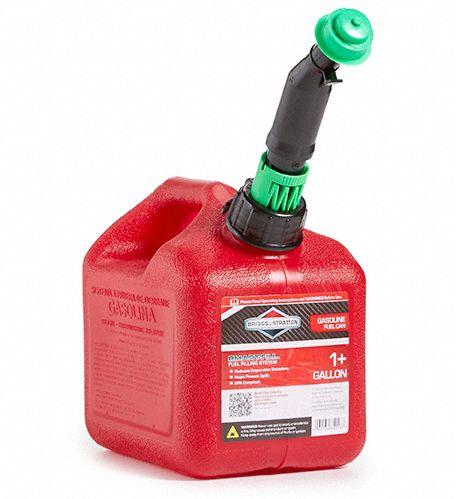 Red Polyethylene Gas Can BRIGGS /& STRATTON 85013G 1 gal