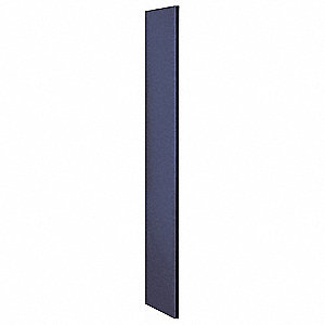Locker End Panel,18x72,Blue