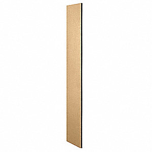 Locker End Panel,18x72,Maple