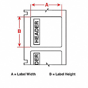 "Arc Flash Label, Red/White, 4""W x 4"""