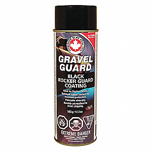 GRAVEL GUARD BLACK