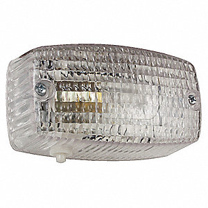 Dome Light,Rectangle,Clear