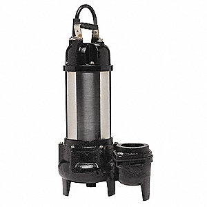 Stainless Steel 3/4 HP Water Garden Pump, Submersible, 115V Voltage