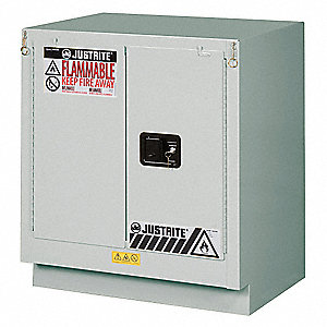 Flammable Cabinet,19 Gal.,Light Neutral