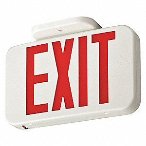 Exit Sign,3.8W,Red,2 Faces