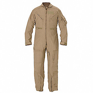 "Flight Suit,Chest 47 to 48"",Tan"