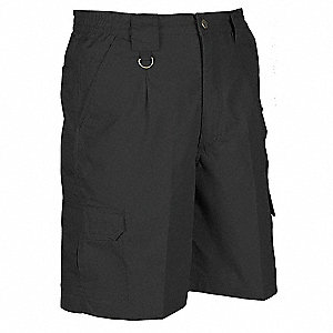 Mens Tactical Shorts,Black,Size 56
