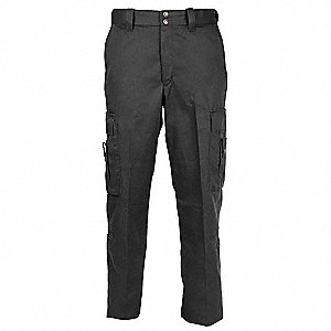 "Women's EMT Pants. Size: 10, Fits Waist Size: 32"", Inseam: 36-1/2"", Black"