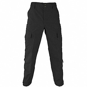Mens Tactical Pant,Black,Size 52 Short