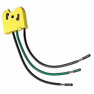 347VAC Switch Wiring Module For Use With Lev-Lok® Switches, Stranded