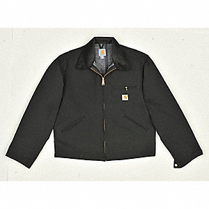 Jacket,Blanket Lined,Black,M