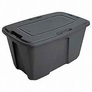 Storage Tote,17-3/4 In. H,31-7/8 In. L