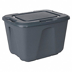 Storage Tote,15-1/2 In. H,23-1/2 In. L