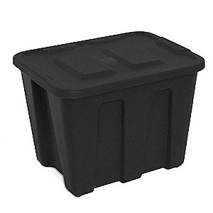 Storage Tote,17-1/2 In. H,16-1/2 In. L