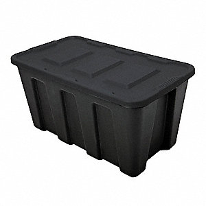 Storage Tote,18-1/2 In. H,16-3/4 In. L