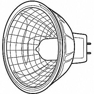 LAMP QUARTZ Q20MR16C/CG15     20858