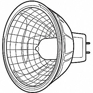 LAMP QUARTZ Q50MR16/C/CG25    20871