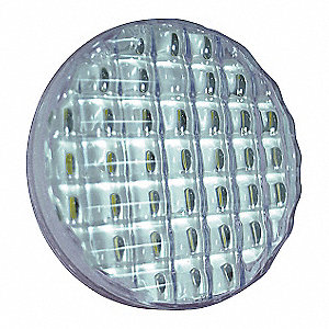 LED BACK-UP SINGLE LAMP CLEAR