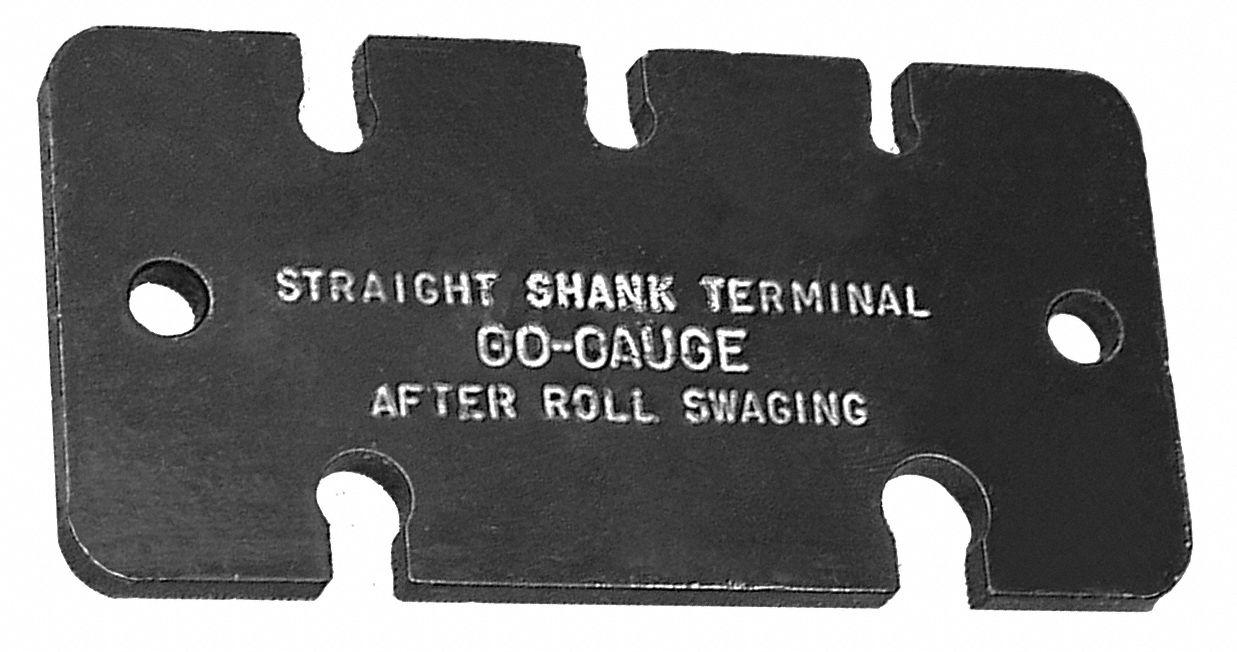 in. Straight Shank Terminal Gauge 7//32 to 3//8 Measuring Range