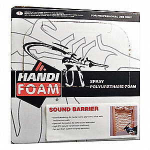 Handi foam sound barrier insulating spray foam sealant 26 for Best sound barrier insulation
