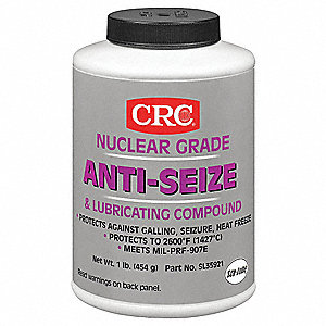 Anti Seize Compound, 16 oz. Container Size, 16 oz. Net Weight