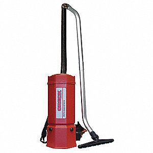 Backpack Vacuum Cleaner,6 qt.,10.2A
