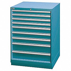 Modular Drawer Cabinet,41-3/4 In. H