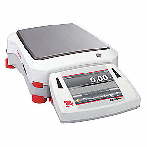 6200g Digital VGA Touchscreen Compact Bench Scale