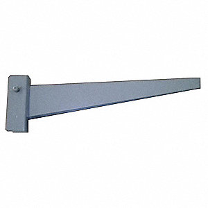 Steel Straight Arm, Capacity per Arm: 3000 lb., Arm Length: 12""