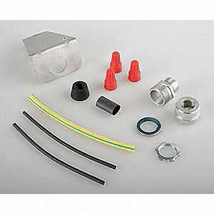 Power Connection Kit, For Use With 13R074-13R079, 13R080-13R087, 1 EA