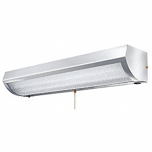 "48-3/8"" x 8-9/16"" x 6"" Healthcare Exam Light for T8 Lamp Type"