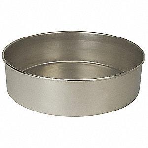 PAN,SS,12 IN DIA,3 1/2 IN D