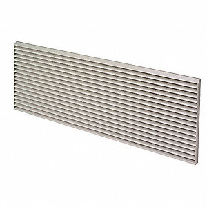 Architectural Outdoor Grille,White