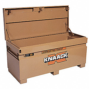 "23"" x 24"" x 60"" Jobsite Box, 20.2 cu. ft., Tan"