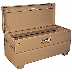 "23"" x 24"" x 60"" Jobsite Chest, 20 cu. ft., Tan"