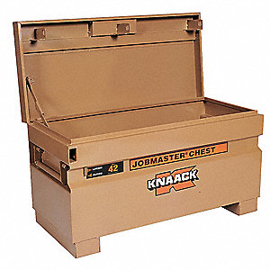 "18"" x 19"" x 42"" Jobsite Chest, 9 cu. ft., Tan"