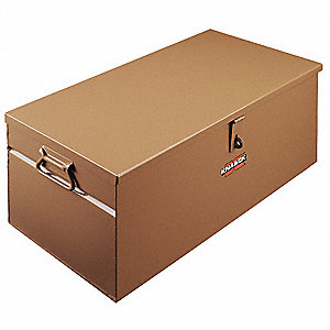 "12"" x 12"" x 28"" Jobsite Box, 2.3 cu. ft., Tan"