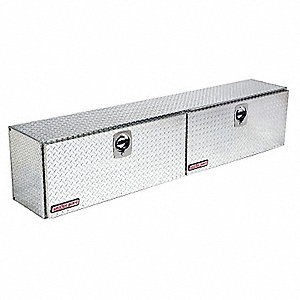 HI-SIDE TRUCK BOX,ALUM,90-1/4 X16-1