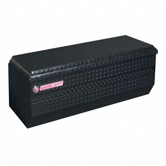 Weather Guard Truck Box Chest Aluminum Black Single 10 0 Cu Ft 13r593 674 5 01 Grainger