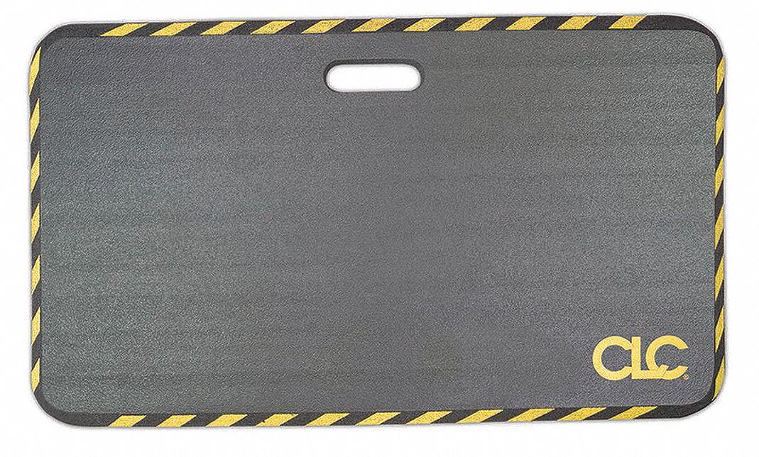 22EN47 CONDOR NBR Kneeling Mat,28 x 16,In,Black Black