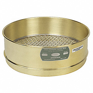 Sieve, #40, B/S, 12 In, Full Ht