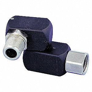 SWIVEL CONNECTOR 1/4FX1/4M