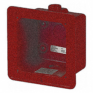 WEATHERPROOF BOX,RED