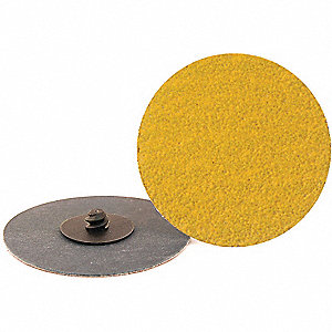 Quick Change Disc,3in,120Grit,TR,PK50