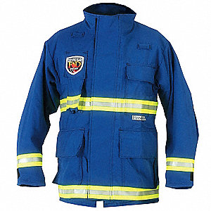 "EMS Jacket, S Fits Chest Size 38"", Royal Blue Color"